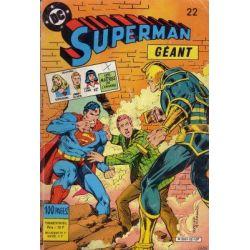 Superman Géant 22 - Vainqueur de Superman ! - 2e série