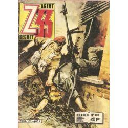 Z33 Agent secret 107 - Un train pour l'enfer