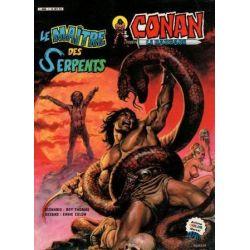 Conan le Barbare 12 - Le maître des serpents - Artima Color Marvel Géant