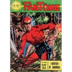 FANTOME (le) 99 - Aventures Américaines - L'héritier de Sandokan