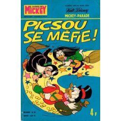 Mickey Parade 1199 - Picsou se méfie -HS