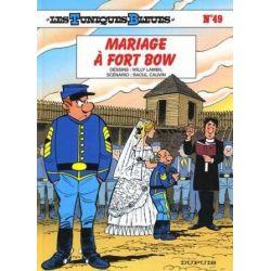 Les Tuniques bleues 49 - Mariage à fort Bow