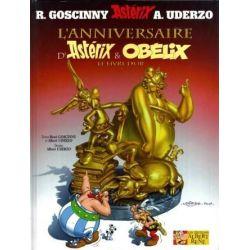 Astérix 34 - L'anniversaire d'Astérix et Obélix - Le livre d'Or