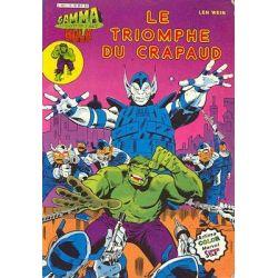 Hulk 16 - Le triomphe du crapaud  (Gamma la bombe qui a créée Hulk - Arédit)