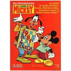 Almanach du Journal de Mickey 1981