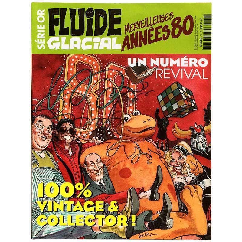 Top Fluide Glacial Série Or 56 - Merveilleuses années 80 - gamaray.fr XW51