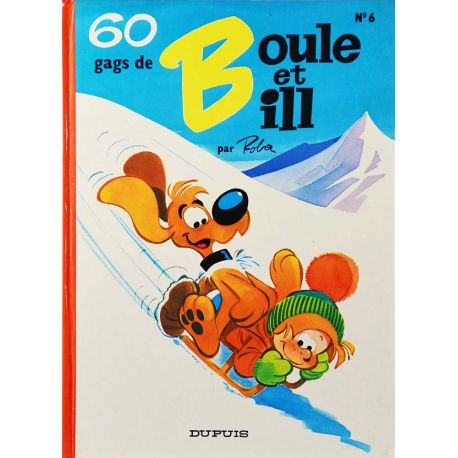 Boule et Bill 6 réédition