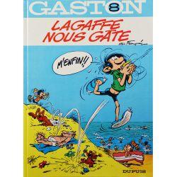 Gaston 8 réédition - Lagaffe nous gâte