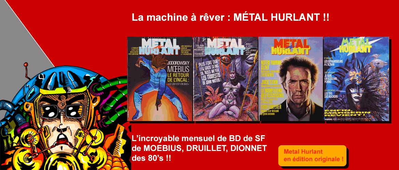 Métal Hurlant sur bd-eo.fr