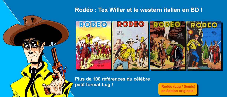 Petit format Rodéo sur bd-eo.fr