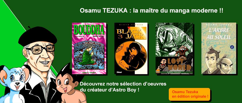 Osamu TEZUKA : découvrez notre sélection d'oeuvres du créateur d'Astro Boy !