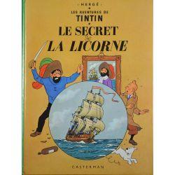 Tintin 11 réédition 1975 - Le secret de la Licorne