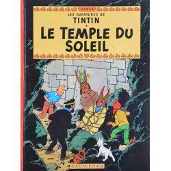 Tintin 14 réédition 1977 - Le temple du soleil