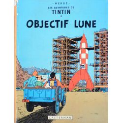 Tintin 16 réédition 1973 - Objectif Lune