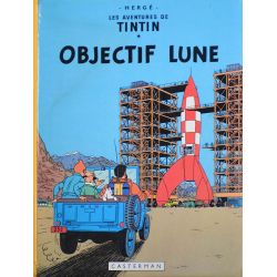 Tintin 16 réédition 1980 - Objectif Lune