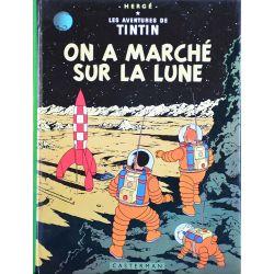 Tintin 17 réédition 1979 - On a marché sur la Lune