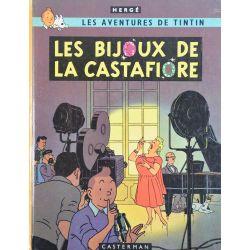 Tintin 21 réédition 1973 - Les bijoux de la Castafiore