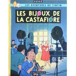 Tintin 21 réédition 1981 - Les bijoux de la Castafiore
