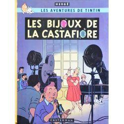 Tintin 21 réédition 1980 - Les bijoux de la Castafiore
