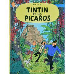 Tintin 23 réédition 1980 - Tintin et les Picaros