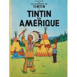 Tintin 3 réédition 1975 - Tintin en Amérique