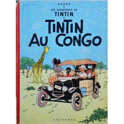 Tintin 2 réédition 1962 - Tintin au Congo