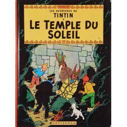 Tintin 14 réédition 1975 - Le temple du soleil