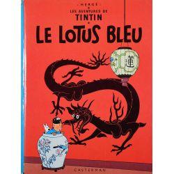 Tintin 5 réédition 1978 - Le Lotus Bleu
