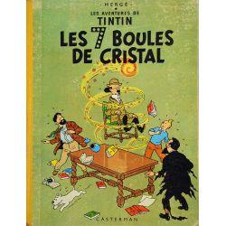 Tintin 13 réédition 1961 - Les sept boules de cristal