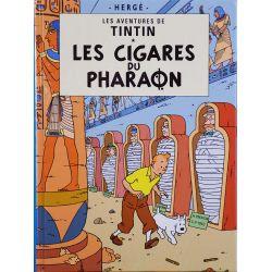 Tintin 4 réédition petit format - Les cigares du Pharaon
