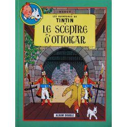 Tintin 9 album double France Loisirs - Le Sceptre d'Ottokar / L'affaire Tournesol