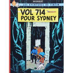 Tintin 22 réédition (pub Total) - Vol 714 pour Sydney