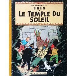 Tintin 14 réédition 1955 - Le temple du soleil
