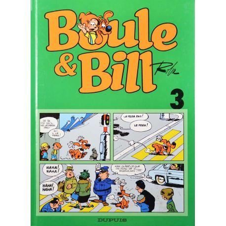 Boule et Bill (série de 1999) 3 réédition