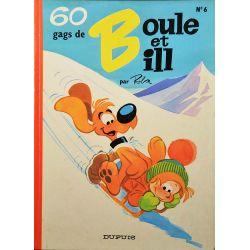 Boule et Bill 06 (réédition BE-) 60 gags de Boule et Bill