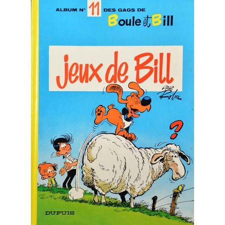 Boule et Bill 11 réédition - Jeux de Bill
