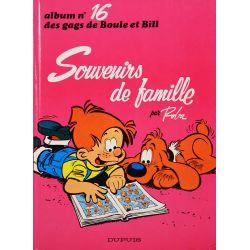 Boule et Bill 16 (réédition BE-) Souvenirs de famille