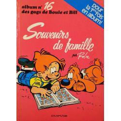 16 - Boule et Bill 16 (réédition BE--) - Souvenirs de famille