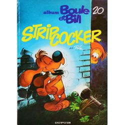Boule et Bill 20 (réédition BE) Strip-Cocker