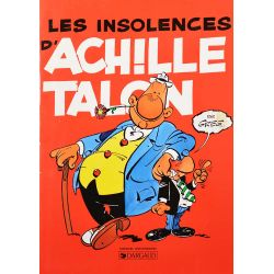 Achille Talon 7 réédition spéciale Chamoix d'Or - Les insolences d'Achille Talon