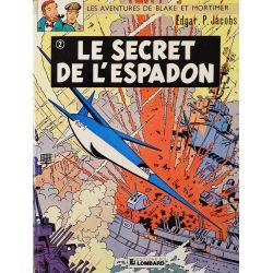 Blake et Mortimer 2 réédition - Le secret de l'Espadon (T2)