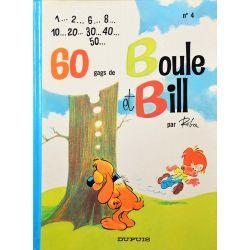 04 - Boule et Bill 4 (réédition 1988 EM) - 60 gags de Boule et Bill