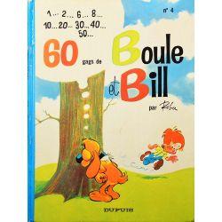 04 - Boule et Bill 4 (réédition 1982 EM) - 60 gags de Boule et Bill