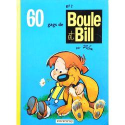 02 - Boule et Bill 2 (réédition BE-) - 60 gags de Boule et Bill