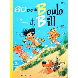 05 - Boule et Bill 5 (réédition BE-) - 60 gags de Boule et Bill