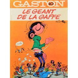 10 - Gaston 10 (réédition) - Le géant de la gaffe