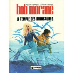 Bob Morane - Marabout/Lombard/Dargaud - Volume N°24 - Le temple des dinosaures