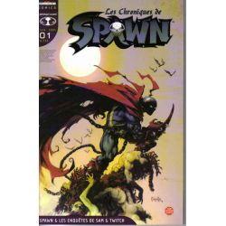 Spawn - (Les chroniques de) - Volume 1 - Spawn et les enquêtes de Sam et Twitch 1