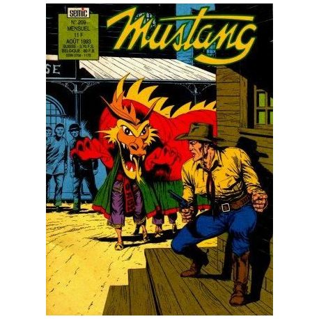 Mustang - N°209 - Mensuel