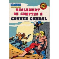Kamandi 3 - Règlement de compte à Coyote Corral - (Année Zéro) 2e série